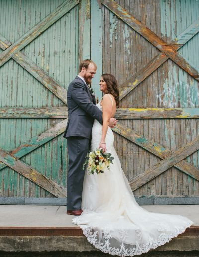 April Wedding by Jennifer DeBarros Photography
