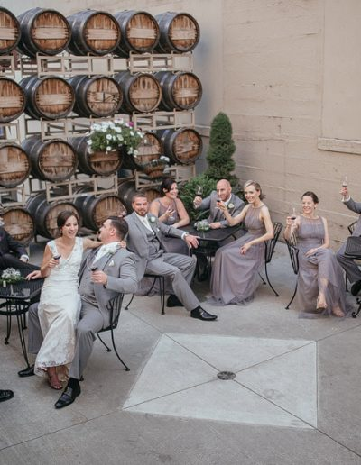 Reception in the Barrister Courtyard | Spokane Events