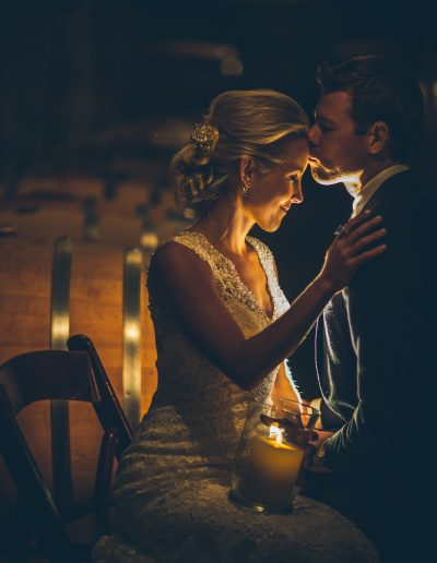October Wedding at Barrister Winery | Ifong Chen Photography