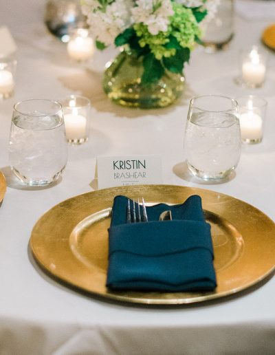 Beacon Hill Catering Place Setting by Park Road Photography