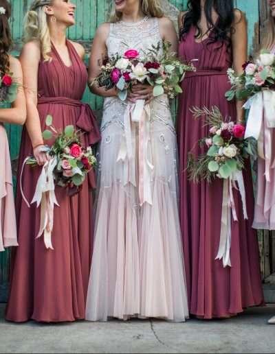 Bridal Party by Jennifer DeBarros Photography
