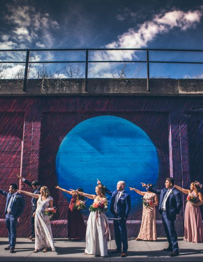 Barrister Alley Mural by Ifong Chen Photography