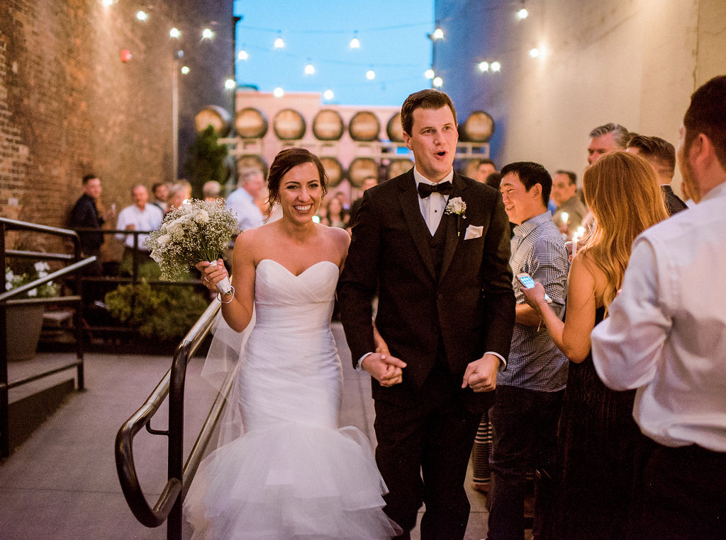 Courtyard Wedding | Barrister Winery Events