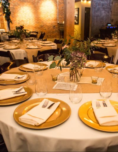 Beacon Hill Catering Place Setting by Ifong Chen Photography
