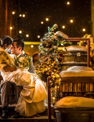 Winter Wedding by Ifong Chen Photography