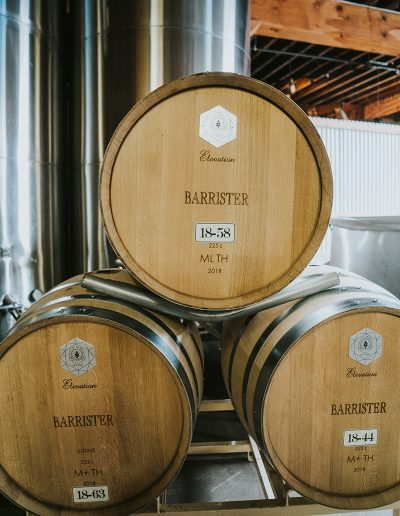 Barrister Winery Production Photos | Ifong Chen Photography